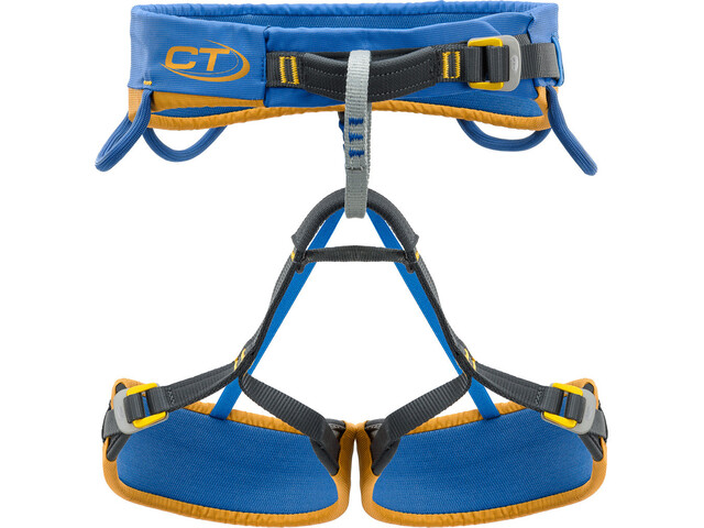 Climbing Technology Dedalo Arnés de Escalada S, azul/amarillo